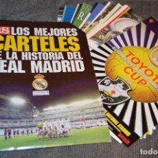 Coleccionismo deportivo: LOS MEJORES CARTELES DE LA HISTORIA DEL REAL MADRID AS - DIARIO AS - PRODUCTO OFICIAL - HAZ OFERTA. Lote 113205919