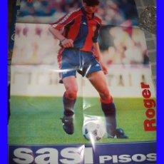 Coleccionismo deportivo: BARCELONA CLUB DE FUTBOL POSTER SPORT ROGER 80/60 CM. Lote 113211667