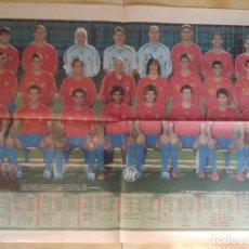 Coleccionismo deportivo: POSTER MARCA SELECCION ESPAÑOLA FUTBOL ALEMANIA 2006. Lote 113437755