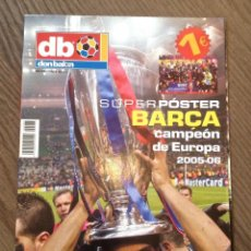 Coleccionismo deportivo: FC BARCELONA-ARSENAL. POSTER ESPECIAL DON BALÓN. COMO NUEVO.. Lote 121981247