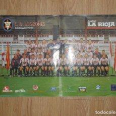Coleccionismo deportivo: POSTER CLUB DEPORTIVO LOGROÑES. TEMPORADA 98/99. 1998-1999. TDKP1. Lote 113896407