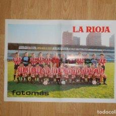 Coleccionismo deportivo: POSTER CARTEL CLUB DEPORTIVO LOGROÑES. TEMPORADA 83-84. 1983/1984. TDKP1. Lote 113900051