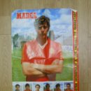 Coleccionismo deportivo: POSTER DE EMILIO BUTRAGUEÑO Y LOS HÉROES DE QUERETARO SELECCION ESPAÑOLA. FUTBOL DIARIO MARCA. TDKP1. Lote 113902695