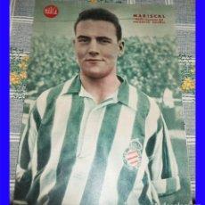 Coleccionismo deportivo: MARISCAL MEDIO IZQUIERDO DEPORTIVO ESPAÑOL POSTER MARCA . Lote 115426039