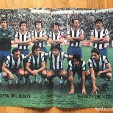 Coleccionismo deportivo: POSTER CASTELLON, LA GACETA DEL NORTE, AÑOS 70. Lote 116183539