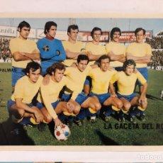 Coleccionismo deportivo: U.D. LAS PALMAS - 2 POSTERS AÑOS 70S DE LA GACETA DEL NORTE.. Lote 117132266