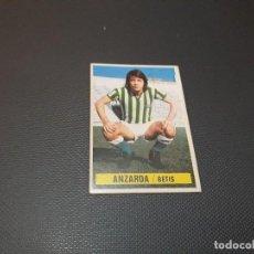 Coleccionismo deportivo: CROMO ESTE 74 75 - ANZARDA , DEL BETIS - NUNCA PEGADO ( PEDIDO MINIMO 5 EUROS ). Lote 117223555