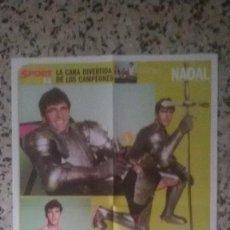 Coleccionismo deportivo - POSTER SPORT, NADAL IRONMAN MEDIDAS 58X44 CM. - 117379079