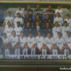 Coleccionismo deportivo: REAL MADRID C.F. 96-97. Lote 117516287