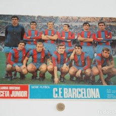 Coleccionismo deportivo: POSTER GACETA JUNIOR Nº 7: C. F. BARCELONA / CLUB DEPORTIVO SAN ANDRÉS LIGA 1969-1970. S_N. Lote 31211453