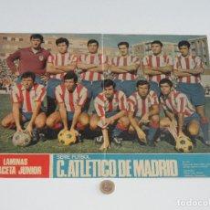 Coleccionismo deportivo: POSTER GACETA JUNIOR Nº 1: CLUB ATLÉTICO DE MADRID / CALVO SOTELO C. DE F. LIGA 1969-1970. S_N. Lote 31211360
