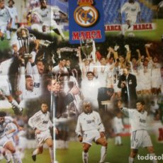 Coleccionismo deportivo: POSTER REAL MADRID 96/97 MARCA GIGANTE. Lote 120020487