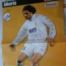 Coleccionismo deportivo: POSTER REAL MADRID 96/97 MARCA EDICIÓN LA SEPTIMA ALKORTA. Lote 120021815