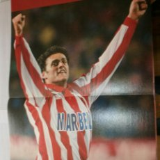 Coleccionismo deportivo: POSTER KIKO AT. MADRID 1998 AS. Lote 120024971