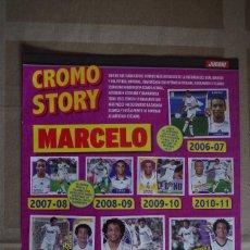Coleccionismo deportivo: MARCELO R. MADRID - LAMINA POSTER 30X22 CM - CROMO STORY. Lote 120341331