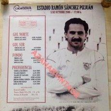 Coleccionismo deportivo: CARTEL SEVILLA F.C. - ATH.BILBAO LIGA AÑO 2008, 50X70 CMS. Lote 120907083