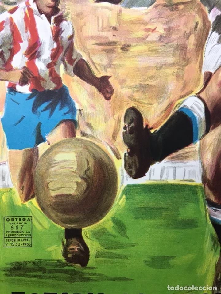Coleccionismo deportivo: AÑO 1985 - CARTEL COPA DE LA UEFA, CUARTOS DE FINAL, PARTIDO VUELTA - REAL MADRID-TOTTENHAM HOTSPUR - Foto 9 - 164685840