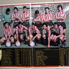 Coleccionismo deportivo: PÓSTER REVISTA VALE - FÚTBOL AÑO 1977 - ATHLETIC CLUB DE BILBAO ATLÉTICO - IRIBAR,...- RARO DIFICIL. Lote 121819987