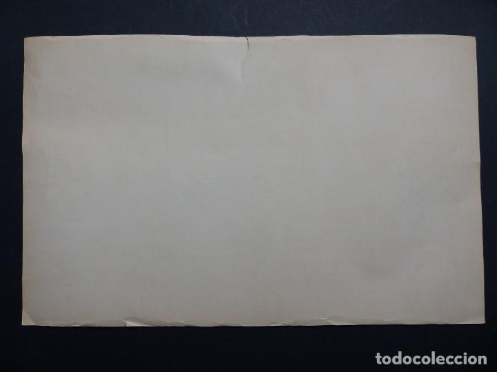 Coleccionismo deportivo: REAL MADRID - PRECIOSO CARTEL-RECORTABLE - LIGA FUTBOL 1954-1955 - DI STEFANO, MUÑOZ, MOLOWNY - Foto 8 - 121864583
