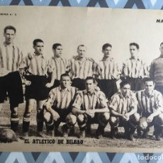 Coleccionismo deportivo: CARTEL POSTER LAMINA MARCA Nº 5 ATLETICO DE BILBAO ATHLETIC CLUB BILBAO. Lote 124926988