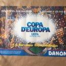 Coleccionismo deportivo: CARTEL. FC BARCELONA V BAYER UERDINGEN. UEFA 86/87. Lote 124704296