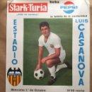 Coleccionismo deportivo: CARTEL COPA FERIAS. VALENCIA V. SLAVIA. Lote 124704711