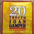 Coleccionismo deportivo: CARTEL JOAN GAMPER. HAMBURGO AJAX RÁPID VIENA BARCELONA. Lote 124705870
