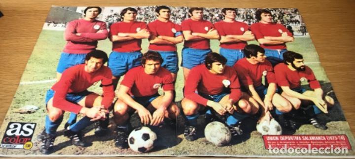UNIÓN DEPORTIVA SALAMANCA (1973 - 1974) - PÓSTER N° 138 DE AS COLOR (Coleccionismo Deportivo - Carteles de Fútbol)