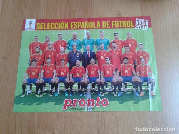 Poster A3 Mundial Rusia 2018 España Seleccion Española Football Futbol Sport