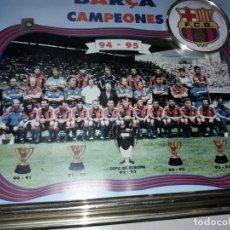 Coleccionismo deportivo: FABULOSO RARO F.C. BARCELONA CAMPEON 1994. Lote 127681627
