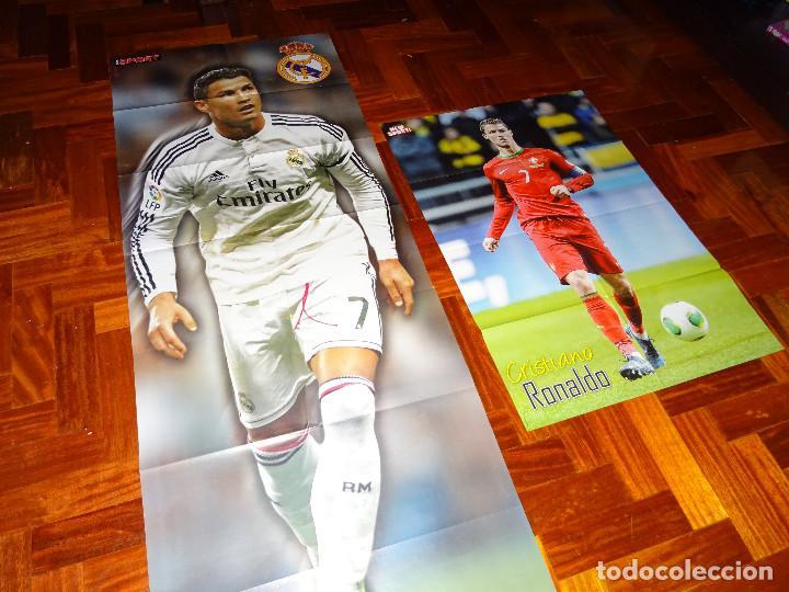 Lote Posters Xxl Cristiano Ronaldo Real Madrid Manchester United Portugal Don Balon Revista Poster
