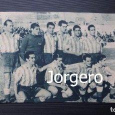 Coleccionismo deportivo: AT. AVIACIÓN. ALINEACIÓN PARTIDO DE LIGA LIGA 1944-1945 EN LA CREU ALTA CONTRA EL SABADELL. RECORTE. Lote 131539654