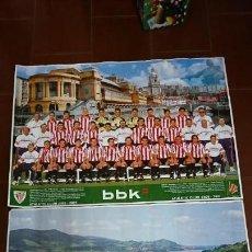 Coleccionismo deportivo: PÓSTER ATHLETIC CLUB DE BILBAO 96-97 2000-2001. Lote 132997458