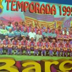 Coleccionismo deportivo: BARÇA .TEMPORADA 1995 - 96 CARTONÉ RÍGIDO (34X24 ). Lote 133343607