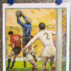 Coleccionismo deportivo: CAMPO MESTALLA. VALENCIA C.F. - SEVILLA C.F. LIGA PRIMERA DIVISION AÑO 1966. Lote 218393032