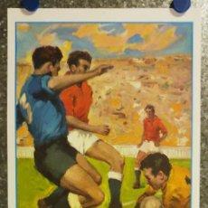 Coleccionismo deportivo: CAMPO MESTALLA. MESTALLA - MALAGA C.F. LIGA SEGUNDA DIVISION AÑO 1966. Lote 218393050