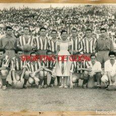 Coleccionismo deportivo: SPORTING DE GIJÓN, ALINEACIÓN AÑOS 50. Lote 135729203