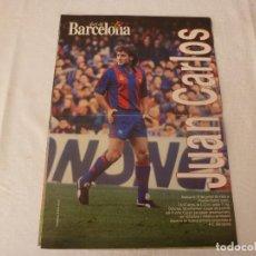 Coleccionismo deportivo: (ABJ)POSTER(42X30)JUAN CARLOS-(F,C.BARCELONA)-BARÇA. Lote 135757930