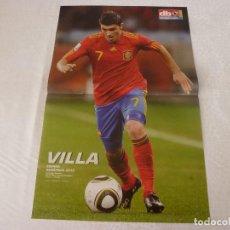 Sammelleidenschaft Sport - (ABJ)POSTER VILLA CAMPEON DEL MUNDO 2010 !!!!! - 135799446