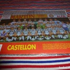 Collectionnisme sportif: (ABJ)-LÁMINA FUTBOL(29X20) TEMPORADA 1992-93-CASTELLÓN. Lote 135865470