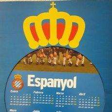Coleccionismo deportivo: CALENDARIO DEL RCD ESPANYOL - AÑO 1999 - A S - . Lote 137104330