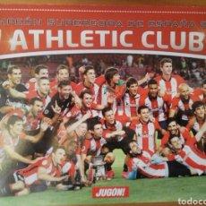 Coleccionismo deportivo: PÓSTER DEL ATHLETIC CLUB DE BILBAO CAMPEÓN DE LA SUPERCOPA DE ESPAÑA 2015. Lote 195439863