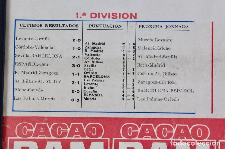 Coleccionismo deportivo: C-759 .C.F.BARCELONA. CARTEL 8ª JORNADA DE LIGA 1 NOVIEMBRE DE 1964 .BARCELONA - ESPAÑOL. - Foto 3 - 137624374