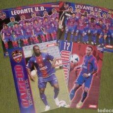 Coleccionismo deportivo: 4 PÓSTERS DEL LEVANTE U.D. DE LA REVISTA JUGÓN DE PANINI. Lote 138803720