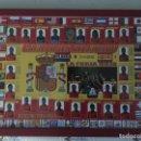 Coleccionismo deportivo: ESPAÑA CAMPEON DEL MUNDO 2010. CUADRO ENMARCADO. Lote 138870322