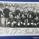 Coleccionismo deportivo: POSTER DEL FC BARCELONA 1947-48 CON FIRMAS IMPRESAS. Lote 138923946