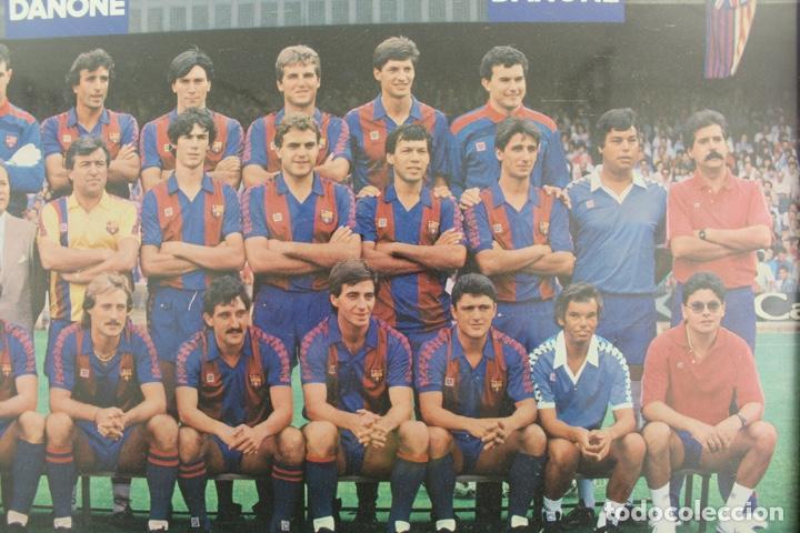 Coleccionismo deportivo: C-773 F.C.B. TEMPORADA 86-87 - Foto 4 - 139066470