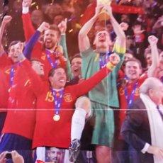 Sammelleidenschaft Sport - Póster campeones del mundo 2010 la roja - 140091382
