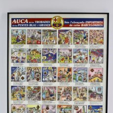 Coleccionismo deportivo: C-783 AUCA DE LES TROBADES DE LES PENYES BLAU I GRANES .PLANA DE VIC .AÑO 1993.. Lote 140706006