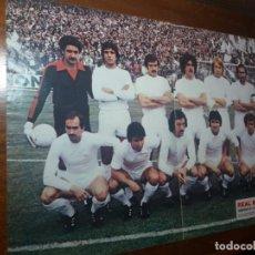 Coleccionismo deportivo: PÓSTER AS COLOR. REAL MADRID. CAMPEÓN DE LIGA 1978/79. Lote 140785566